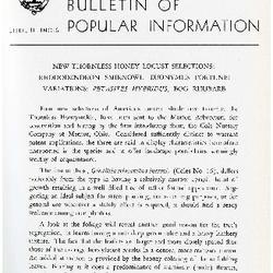 Bulletin of Popular Information V. 33 No. 11