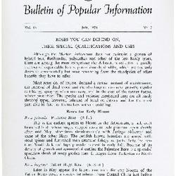 Bulletin of Popular Information V. 36 No. 01