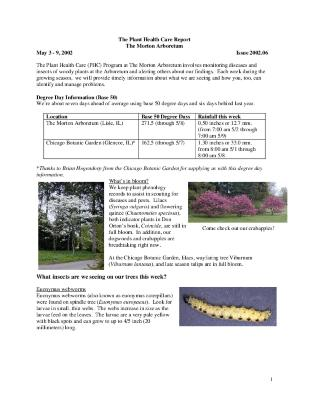 Plant Health Care Report: Issue 2002.06