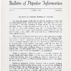 Bulletin of Popular Information V. 33 No. 02
