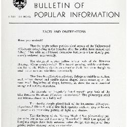 Bulletin of Popular Information V. 32 No. 03