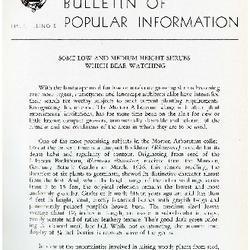 Bulletin of Popular Information V. 33 No. 09