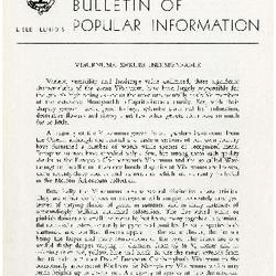 Bulletin of Popular Information V. 33 No. 03