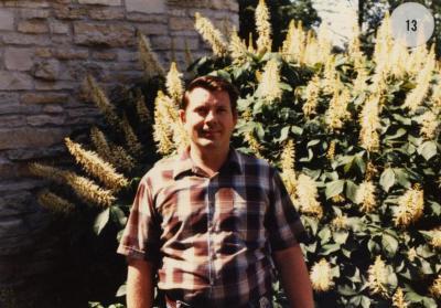 Gene Eppley, outdoor portrait
