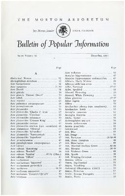 Bulletin of Popular Information V. 38 Index