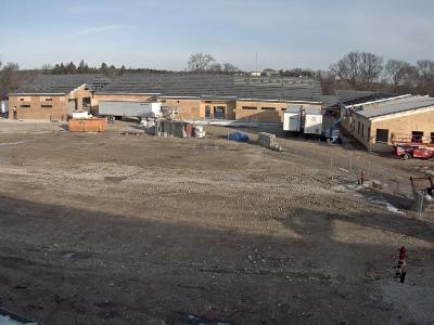 South Farm Curatorial and Operations Center Construction, December 2016