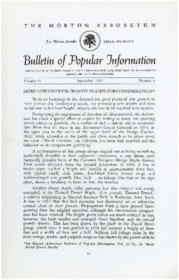 Bulletin of Popular Information V. 37 No. 09