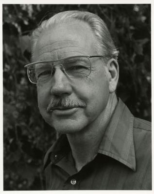Alfred Etter, headshot, smiling