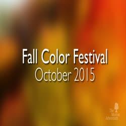 Fall Color Festival, October 2015, short