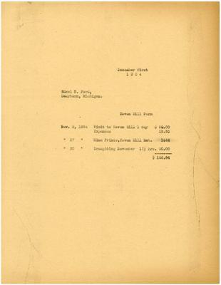 1934/12/01: Marshall Johnson to Edsel Ford