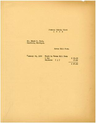 1935/01/31: Marshall Johnson to Edsel Ford
