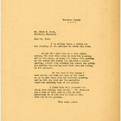 1934/11/20: Marshall Johnson to Edsel Ford