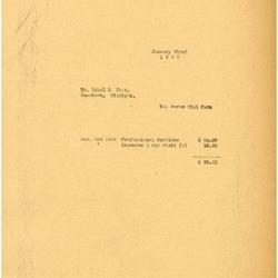1935/01/01: Marshall Johnson to Edsel Ford