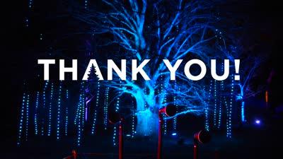 Illumination, Winter 2016-2017, Tinsel Thank you, social media