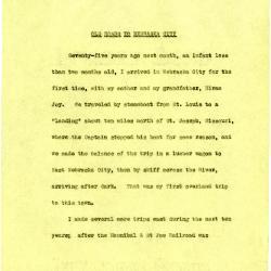Joy Morton Address for the Dedication of the Waubonsie Bridge