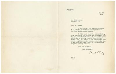 1934/06/28: Edsel Ford to Jens Jensen