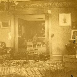 Arbor Lodge interior (prior to 1903 remodeling)