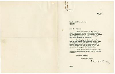 1935/05/28: Edsel Ford to Marshall Johnson