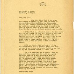 1936/06/19: Marshall Johnson to Edsel Ford