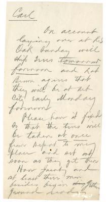 1898/05/14: Joy Morton to Carl Morton