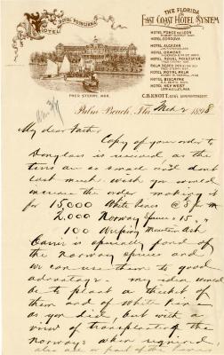 1898/03/02: Joy Morton to J. Sterling Morton
