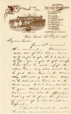 1898/02/28: Joy Morton to J. Sterling Morton