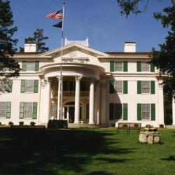 Arbor Lodge State Historical Park and Mansion, front exterior