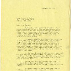 1935/01/17: [Clarence Godshalk?] to Jean Cudahy