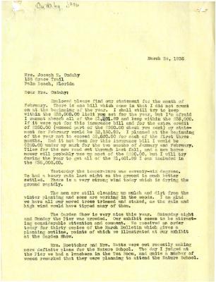 1936/03/24: [Clarence Godshalk?] to Jean Cudahy