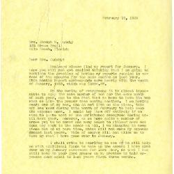 1935/02/16: [Clarence Godshalk?] to Jean Cudahy