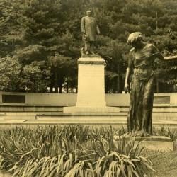 Arbor Lodge gardens and surrounding landscape, J. Sterling Morton memorial area