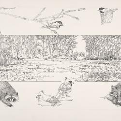 Bur Reed Marsh, Interpretation of Four Seasons: Winter