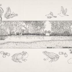 Bur Reed Marsh, Interpretation of Four Seasons: Spring