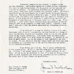 1939/05/13:  James T. Nicholson to Jean Cudahy