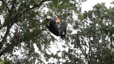 South Farm Adventure Day, 2017, Beau Nagan climbing tree, social media