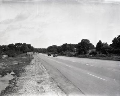 Route 53 looking north from tollway