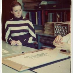 Nancy Hart at Hunt Botanical Library
