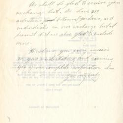 1930/06/17: Secretary to Founder [Morton Arboretum] to A.F. Sandford