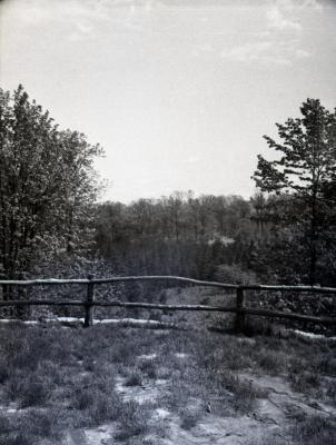 Ridge Road lookout looking west/northwest
