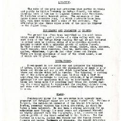 Memorandum with Reference to Morton Arboretum
