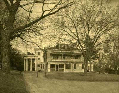 Arbor Lodge album: view of house exterior