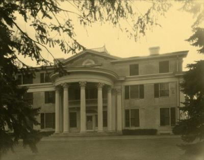 Arbor Lodge album: house exterior, front view