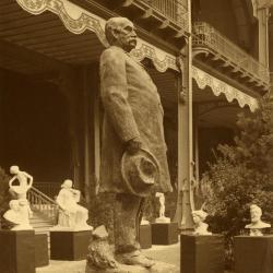 J. Sterling Morton statue later erected at Arbor Lodge