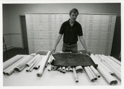 Rick Hootman in new map room