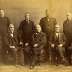Grover Cleveland Cabinet with J. Sterling Morton, second administration