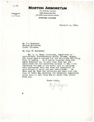 1934/12/04: N.J. Bryan to E.L. Kammerer