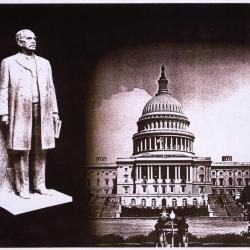J. Sterling Morton statue & U.S. Capitol