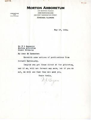 1934/05/17: N.J. Bryan to E.L. Kammerer