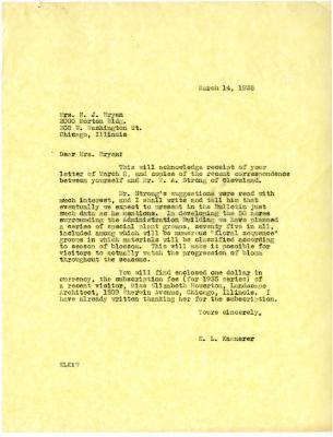 1935/03/14: E.L. Kammerer to N.J. Bryan