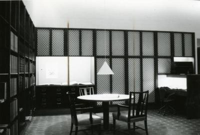 Sterling Morton Library, reading room, southwest corner